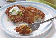 Festival of Latkes / Learn to make savory and sweet Latkes of many flavors and a gluten-free option too.