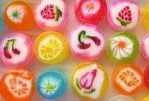 karmelki, cukierki, słodycze
