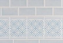 Subway Tile - With All the Trimmings - Adex USA / New Metro Tile Company's 'house brand' of subway tile (Adex USA) offers beautiful, high quality collections of premium subway tile with a full assortment of matching trim, liners, quarter round, glazed edges, decorative tile, hand painted tile, and listellos.