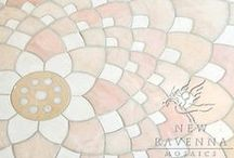 K I D S / Make a kid's bath that will grow with them! New Ravenna is an American mosaic studio collaborating on custom mosaic stone and glass tile with designers & architects everywhere.  For more mosaic tile ideas please visit, http://www.newravenna.com/  / by New Ravenna