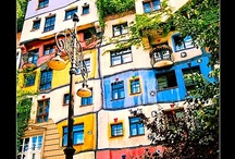 gaudi and/or hundertwasser / funky architecture