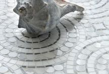 Curated: Beach House / New Ravenna is an American mosaic studio collaborating on custom mosaic stone and glass tile with designers & architects everywhere. For more mosaic tile please visit www.newravenna.com.