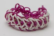 Bandaloom Rubber Band Bracelets and More / Here are some of the great patterns and designs you can make using your Bandaloom / by Bandaloom