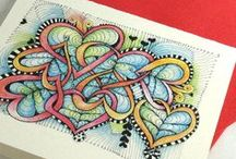 Art -Zentangle, doodles & drawing  / by $onya Sunflower