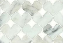 Softness / American stone and glass mosaic studio New Ravenna creates custom mosaics from marble, limestone, mother of pearl, metals and glass as well as many other materials.   / by New Ravenna