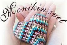 Monikin svet / my heart and hand made