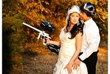 Wedding Paintball