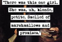 marshmallows and promises / Veronica Mars, the ultimate badass and all her glory