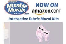 New on Amazon.com / Now with free shipping. Come and visit all the Mixable Murals now available on Amazon.com.