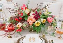 Wedding Floral Fantasies / Inspire your floral decor with these one of a kind aisle decorations, showstopping centerpieces, inventive guestbook table ideas, stunning wedding ceremony arbors and so much more!