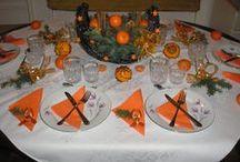 Vánoční stoly /  Moje vánoční stolování a výzdoba