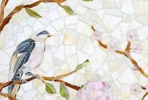 L O V E / New Ravenna is an American mosaic studio collaborating on custom mosaic stone and glass tile with designers & architects everywhere. www.newravenna.com.  / by New Ravenna
