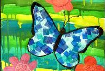 Motýli a hmyzáci - nápady, inspirace