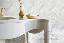 M O M / New Ravenna is an American mosaic studio collaborating on custom mosaic stone and glass tile with designers & architects everywhere. www.newravenna.com.  / by New Ravenna