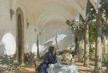 Les peintres en Toscane / La Toscane par les peintres, paysages, architecture