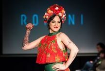 """International Roma Day 2016 Ikon Fashion Show / http://romani.hu Romani Design presented its brand new IKON summer-spring collection on Friday, the 8th of April in Arany10, so the International Roma Day with outstanding Hungarian artists on the runway.  The program became present wit the support of the """"1956-os Emlékbizottság""""."""