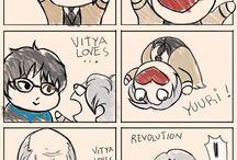 Yuri On Ice Comics