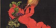 Affiches vintages vins Toscans