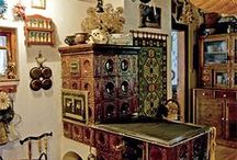 Cottage  Interior  ༺ ❖ ༻