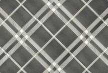 Curated: Menswear / Plaids, Ginghams, checks, these mosaics are inspired by sophisticated classic menswear patterns.