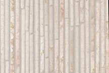 Color Story: Millenial Pink / The color of the hour: Millenial Pink. While not for everyone, this beautiful shade of blush/coral pink, makes for a unique warm palette. #stone #mosaics #tile #millenialpink #pink #rosegold #rose