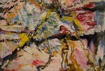 Art / My acrylic paintings & artist I like