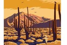 US Southwest - vintage posters