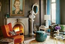 Livingroom client inspiration  / Livingroom sharing thoughts for a residential development