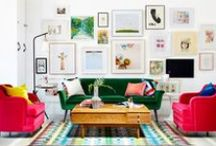 colour & paint power / #Paint, #colour #interiors power to change a space