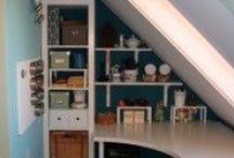home workplace, craft room/dolgozó sarok