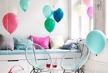 ♥ Happy kid bedroom ♥ / Pop, colourful, happy, creative, fun kid bedroom