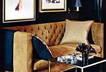 INTERIOR: golden luxury