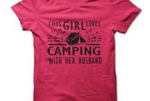 Camping T-Shirts / Tees for those who just have to go camping! Custom and one-off tee designs quickly printed - info@theteemerchant.com