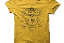 Born in the 50s T-Shirts / Were you born in the 1950s? Then we have the perfect tees for you. Custom and one-off tee designs quickly printed - info@theteemerchant.com