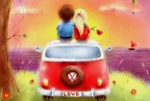 Le Bonheur c'est ... happiness is ... / ... tout ça et plus encore