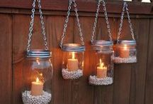 Garden Lighting / Ideas and inspiration for lighting your garden and outdoor space.