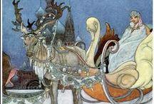 fairy tale . legend . children book . illustration