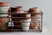 Terracotta Pots / A celebration of the beauty of terracotta pots.