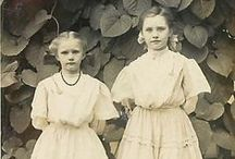 vintage photo . children