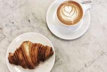 café & croissants