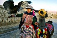 South America Travel, Textiles and Traditional Dress / Inspiration for Travel, Textiles and Traditional dress in South America