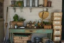 My dream shed / Ideas and dreams for my perfect garden shed - a little space just for me.