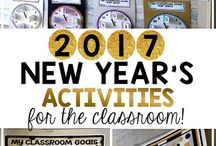 New Years Activities / Fun new year activities for the classroom