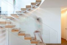 stairs / Need to be light airy and happy to walk on