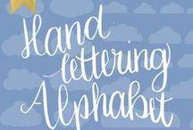 Handlettering Alphabet / Handlettering Alphabet, Handlettering Alphabet Fonts, Handlettering Alphabet Calligraphy, Handlettering Alphabet Handwriting, Handlettering Alphabet Cursive, Handlettering Alphabet Inspiration