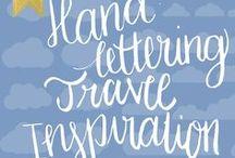 Handlettering Travel Inspiration