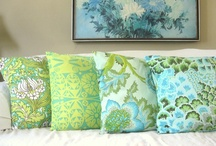 Pretty Pillows / Home Decor and Kid's Crafts.  I like the simple crafts! / by ItsOverflowing.com