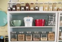 Organization Ideas / Inspiration to organize in all areas of the home - craft, media, bathroom, closet, garage, kitchen, entryway, spices, bedroom, laundry... / by Coupons.com