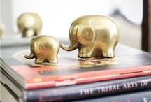 """Elephant Love / """"The elephant is evidence that God is an artist."""" -Picasso"""