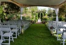 Wedding Tents at Glen-Ella Springs Inn / by Glen-Ella Springs Inn